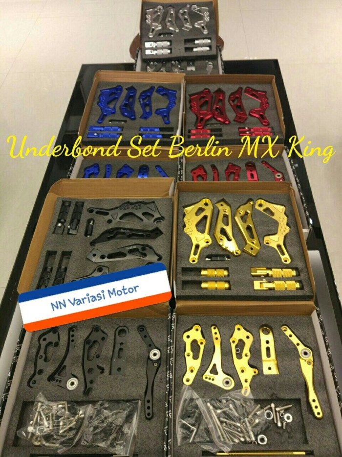 harga Underbone berlin jupiter mx king full set / underbone mx king full cnc Tokopedia.com