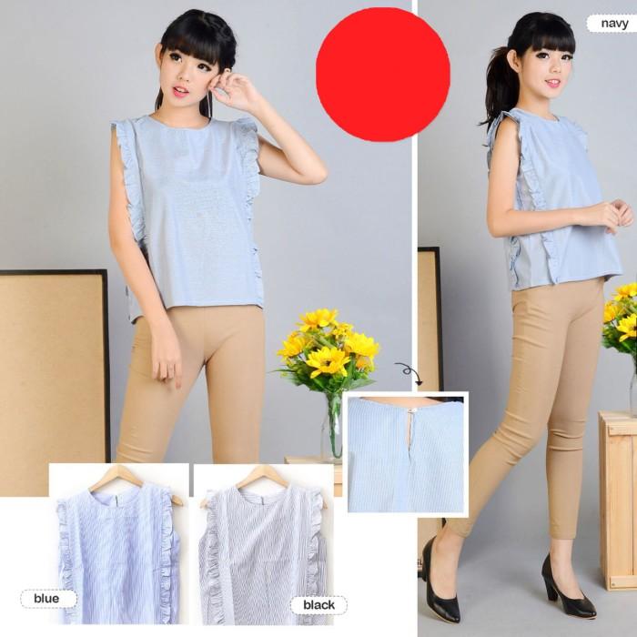Foto Produk BLOUSE SIMPLE CASUAL WANITA / ABG /CEWEK - C1869 - BAJU KEKINIAN dari KPStore Fashion Online