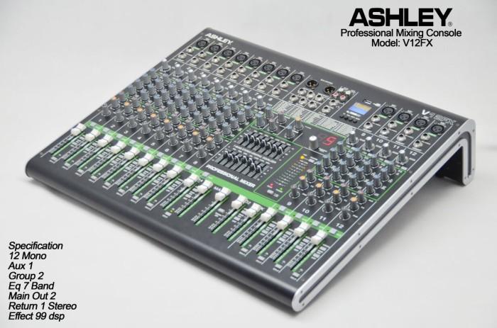 harga Audio mixer ashley v12fx Tokopedia.com