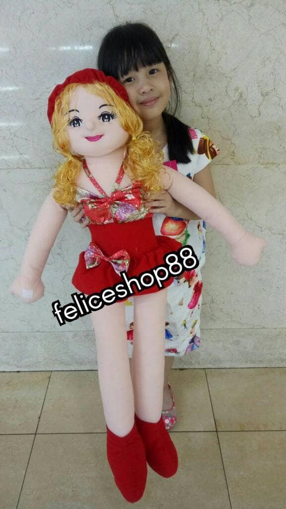Boneka cewek candy cindy besar jumbo 041b5f573e