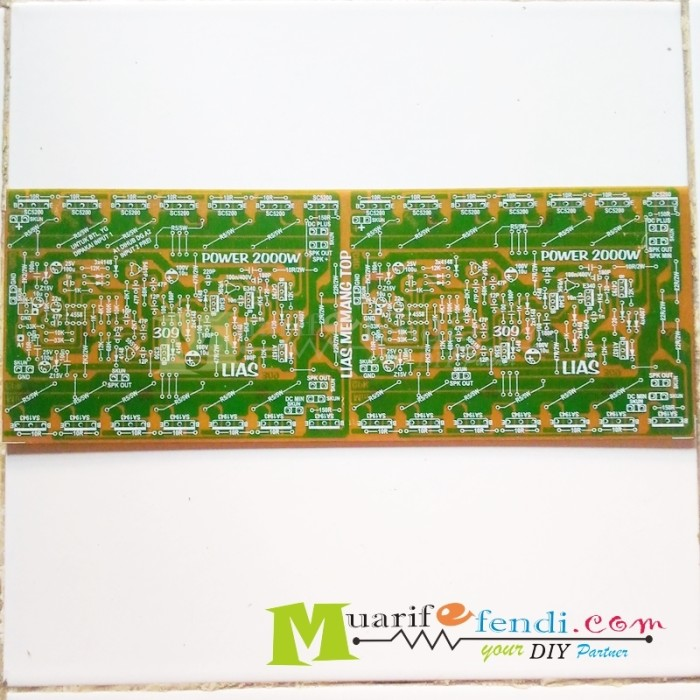 harga Pcb power amplifier 2000 watt btl 14 set toshiba Tokopedia.com