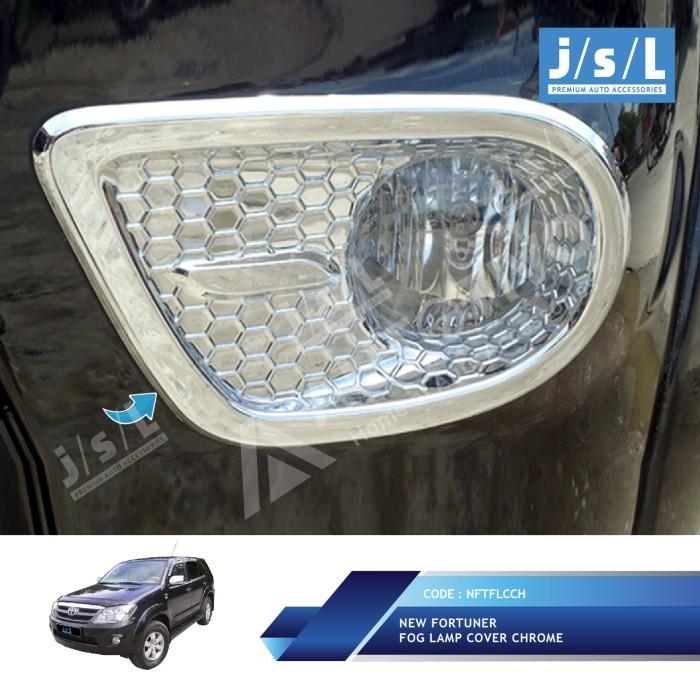 harga Toyota fortuner 2008 2012 fog lamp cover chrome jsl Tokopedia.com