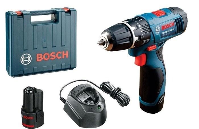 harga Bosch gsb 120-li cordless impact drill driver bor baterai 12 v gsb120 Tokopedia.com