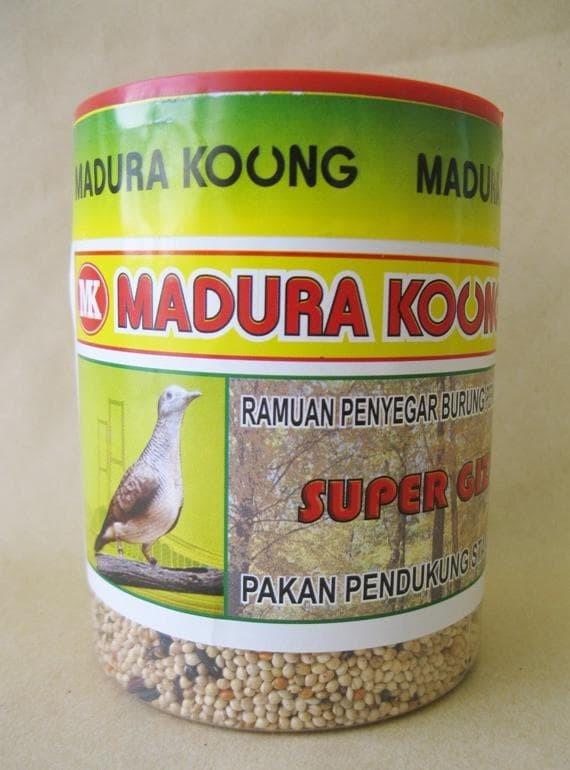 Jual Harga Diskon Makanan Pakan Burung Perkutut Madura Koung