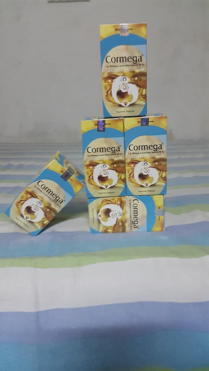 Cormega 30 Kapsul Price List Of Online Shop Indonesia Vitahealth Prostate Omega 3 Acid Ethyl Esters 90 Kap Lunak Minyak