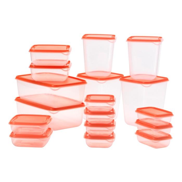 Pruta 17 set food container - kotak makan murah (hhd-62)