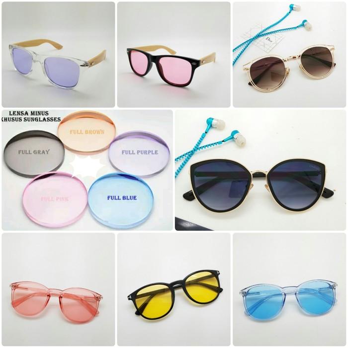Jual pasang ganti lensa kacamata warna untuk minus ... 4ff5e62be2
