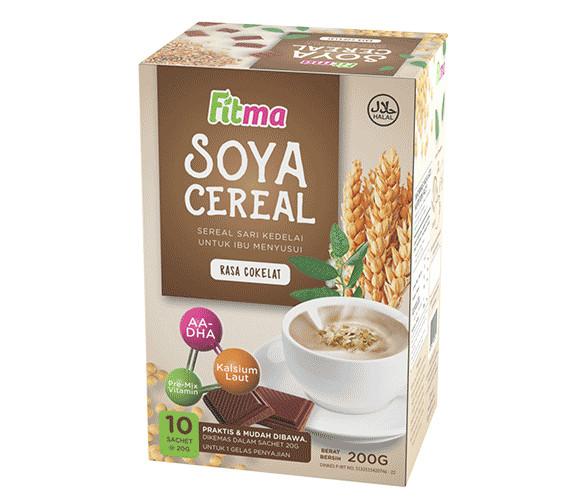 harga Fitma soya cereal - fitma asi booster susu soya sereal rasa cokelat Tokopedia.com