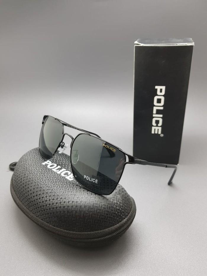 Sunglasses Kacamata Police Q7686 Kombi Coklat Emas - Theme Park Pro ... ce6430dc2c