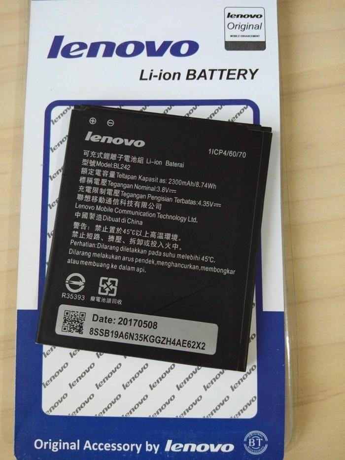 Original baterai batre batere battery battre lenovo a6000 bl242