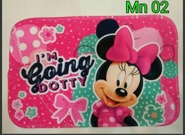 Keset Kaki Minnie dan Mickey Mouse Anti Slip