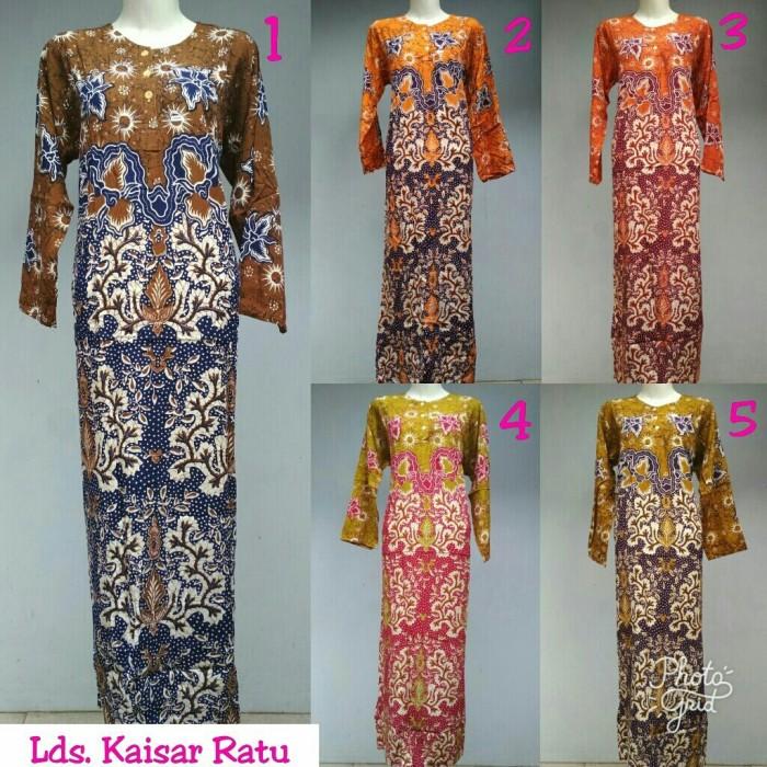... harga Gamis rayon murah   longdress batik pekalongan   baju menyusui   daster Tokopedia.com 54c51e4b0f