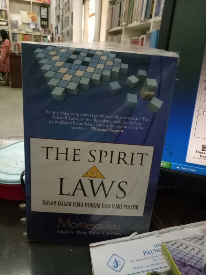 harga The spirit of law dasar dasar ilmu hukum dan ilmu politik Tokopedia.com