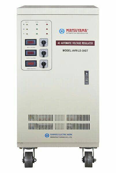 harga Matsuyama stabilizer 30 kva 3 phase / avr / stavol / murah / listrik Tokopedia.com