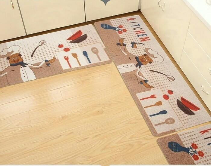 Keset Dapur Alas Kaki Didapur Lap Karpet Hiasan