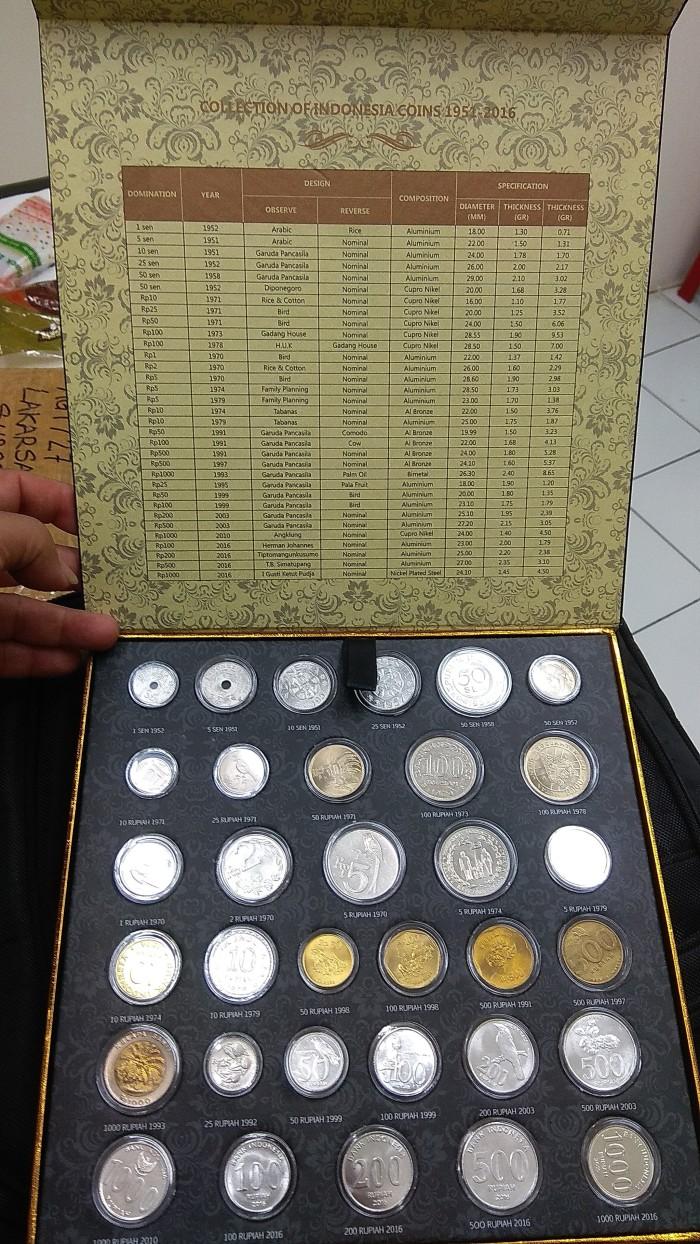 harga Uang kuno , koin set indonesia dari tahun 1951 sampai 2016 Tokopedia.com