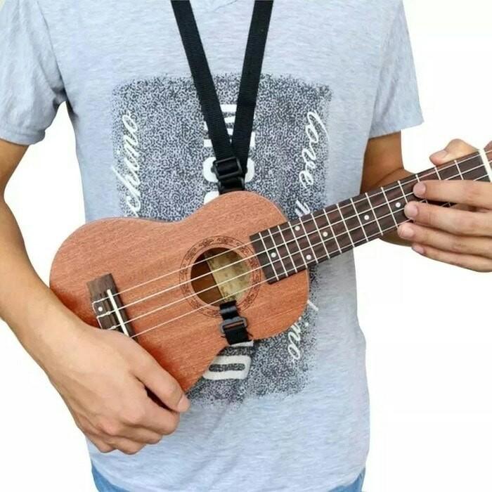 harga Strap ukulele - sabuk gitar lele - tali kentrung - guitalele Tokopedia.com