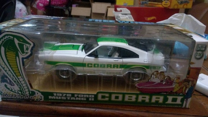 diecast car greenlight ford mustang cobra II 1979 1:18