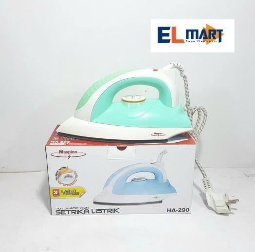harga Maspion setrika listrik ha290 original/gosokan murah Tokopedia.com