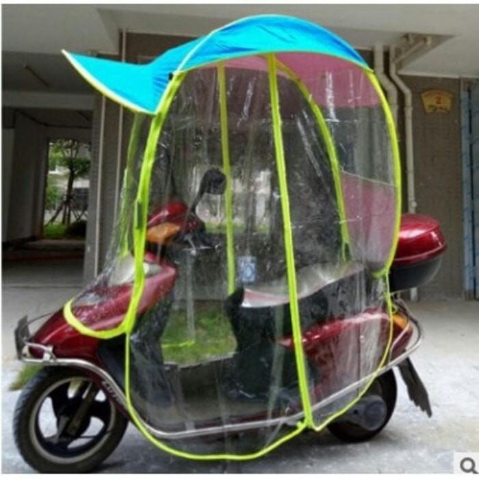 Jual Jas Hujan Motor Tenda Motor Unik