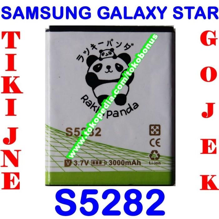 harga Baterai samsung galaxy star s5282 double power rakki panda Tokopedia.com