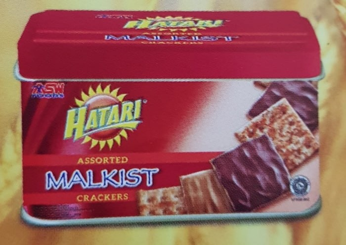 Hatari Assorted Malkist Crackers Tin 300 GR Biskuit Kaleng Lebaran