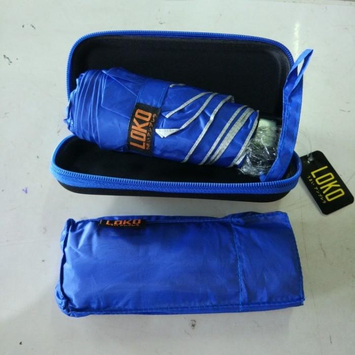 Payung lipat mini dompet upf protection