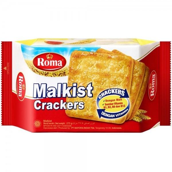 Jual Roma Malkist Crackers 135 Gr Roma Biskuit Malkist Sz Konko