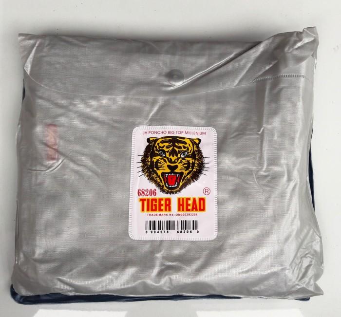 JAS HUJAN MODEL PONCO BIGTOP MILENIUM JH68206 TIGER HEAD