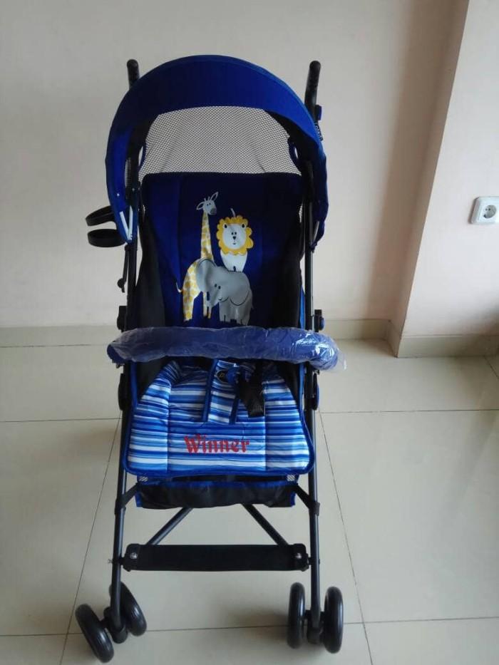 Jual stoller pliko winner(stoller buggy dorongam bayi) - junior baby kids | Tokopedia