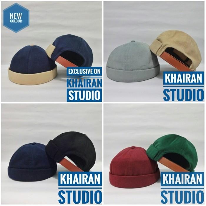 b3114bf2 Jual Miki hat peci topi beanie cap peci hijrah high quality - Khaki ...