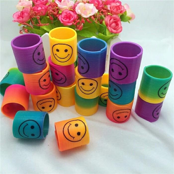 Foto Produk PER SLINKY SMILE YOYO EMOJI MAINAN ANAK KREATIVE dari toko mainan toys store