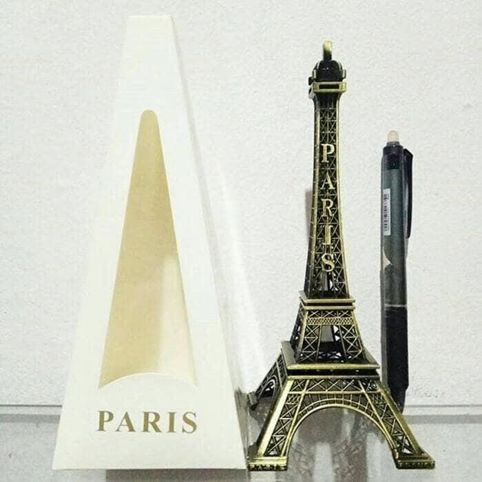 harga Pajangan miniatur menara eiffel paris prancis tinggi 18 cm Tokopedia.com