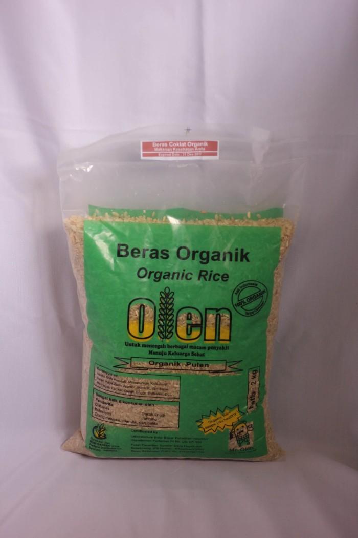 Beras coklat organik olen 5kg