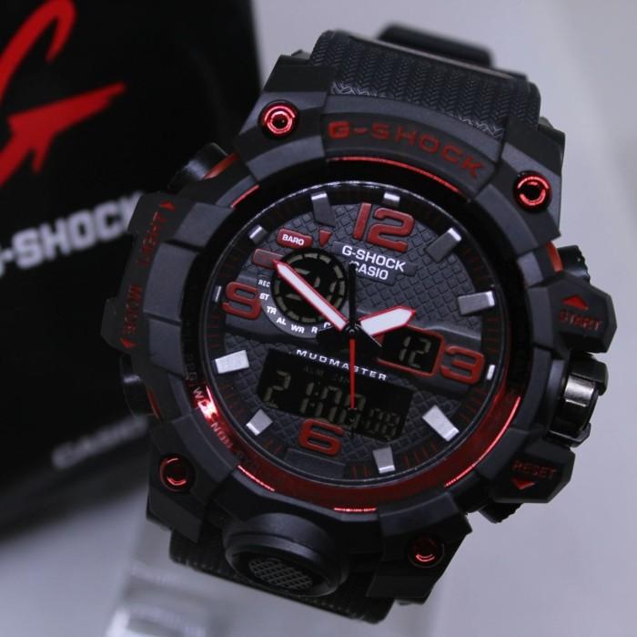G Shock Mudmaster Casio Gwg1000 Hitam List Merah Black Red - Smart4K ... c45c7ebe1c