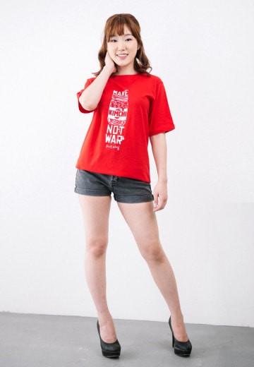 Jual Kuki Style Make Kimchi Not War – Merah Harga Promo Terbaru