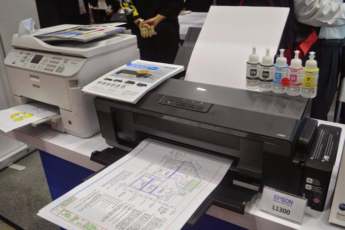 harga Epson l1300 a3 + / printer / multi fungsi / l 1300 / printer epson Tokopedia.com