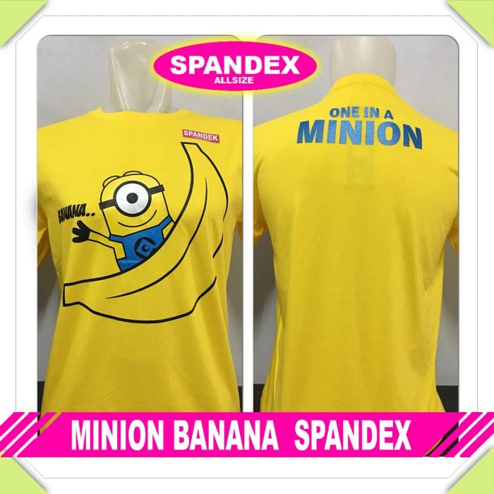 harga Kaos Baju Distro Anime/kartun - Minion Banana Yellow Tokopedia.com