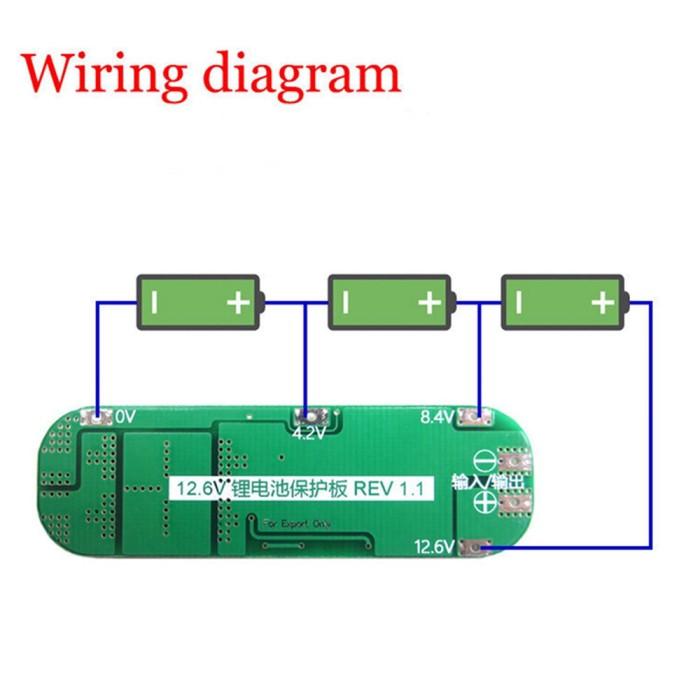 harga Charger pcb protection board 12v 20a lithium battery 18650 diy Tokopedia.com