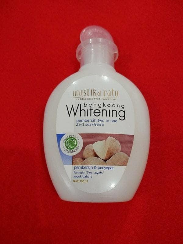 Mustika Ratu Bengkoang Whitening Pembersih 2 in 1