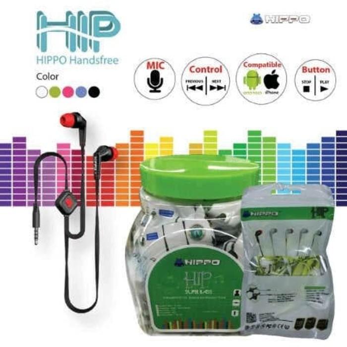 Earphone / Handsfree / Headset Hippo Hip - Original ...