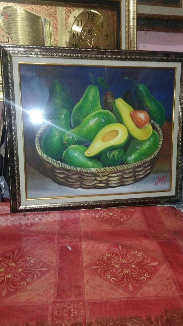 Jual Lukisan Buah Alpukat BINGKAI Kota Bekasi ID Gallery