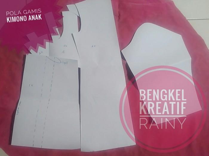 Jual Pola jahit gamis anak model hanbok kimono 1 - Bengkel Kreatif ... 3f726f5701