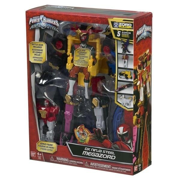 harga Power Rangers Ninja Steel Dx Ninja Steel Megazord Blanja.com