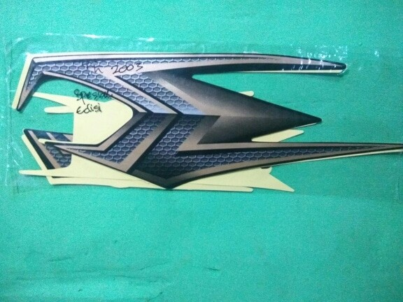 harga Striping list striker rx king tahun 2003 gold spesial edition Tokopedia.com