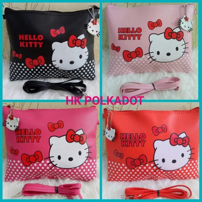 Foto Produk =POLKADOT HK= TAS HELLO KITTY/HELLO KITTY SLING BAG dari Marie Shop