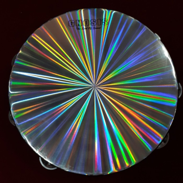 harga Tamborine (tambourine) hologram gnosis 10  double ring Tokopedia.com