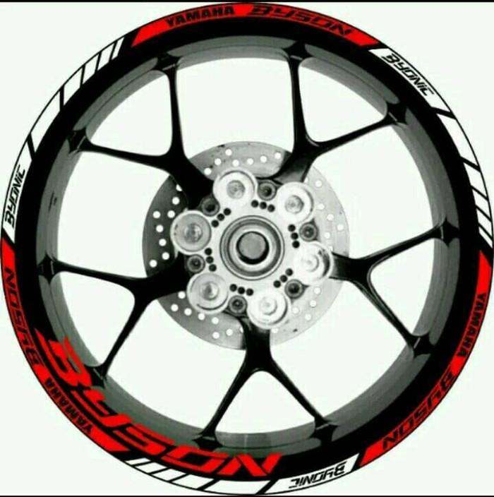 Jual Beli Stiker Velg Motor Yamaha Byson Byonic Utk Velg Ring 17