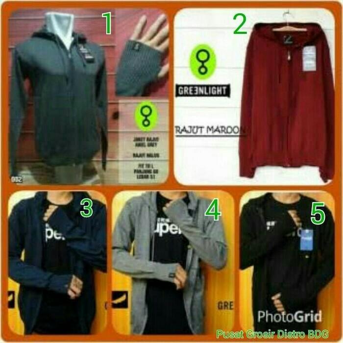 Jaket Rajut Ariel Greenlight / Sweater Rajut Ariel Greenlight Murah