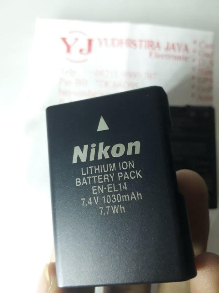 harga Baterai nikon en-el14 original (100% asli) Tokopedia.com